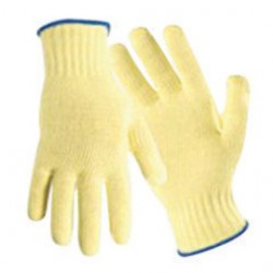 Wells Lamont - 1800L - Large Yellow Keflar String Glove Ambideterous