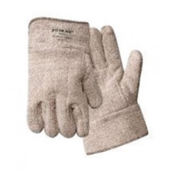 "Wells Lamont - 644HR - Wells Lamont X-Large Brown And White Jomac Extra Heavy Weight Loop-Out Terry Cloth Heat Resistant Gloves With 2 1/2"" Safety Cuff"