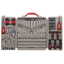 Apex Tool - 181-CTK148MP - Cooper Hand Tools Crescent 148 Piece Professional Tool Set (Includes 1/4, 3/8 And 1/2 Quick Release Ratcheting Drives), ( Set )