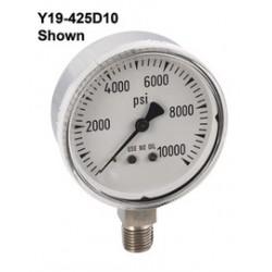 Airgas - 4287372 - Gauge Chrome 2-1/2 30-0-30 PSIG Graduations, 1 PSIG, ( Each )