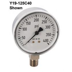 Airgas - 4287429 - Gauge Chrome 2-1/2 0-200 PSIG Graduations, 5 PSIG, ( Each )