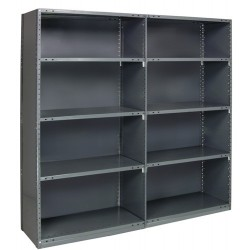 Quantum Storage Systems - ADCL18G-75-2436-5 - ADCL18G-75-2436-5 IRONMAN Closed Shelving Add-on Unit
