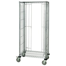 Quantum Storage Systems - TC-EL38CO - ESD-Safe Tray Cart, End Load, 21-34 x 27 x 69