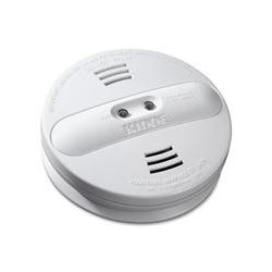 Kidde Fire and Safety - 21007385 - Kidde Fire Dual-sensor Smoke Alarm - 9 V DC - 85 dB - Audible, Visual - White