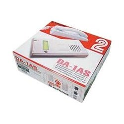 Aiphone - DA1AS - Aiphone DA-1AS Boxed Set Intercom consisting of DA-1MD Master Station, DA-1DS Door Station ( Silver ) ( 10336 )