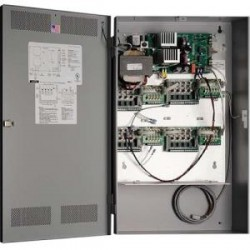 AlarmSaf - PS12408-UL-810N - AlarmSaf 8 or 16 Door Access Control Power Supply System - 120 V AC Input Voltage
