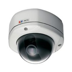ACTi - ACM-7411 - ACTi ACM-7411 Network Camera - Color, Monochrome - 640 x 480 - 3.6x Optical - CMOS - Cable