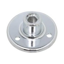 Atlas Sound - AD12B - Atlas Sound AD-12B Mounting Adapter - Chrome