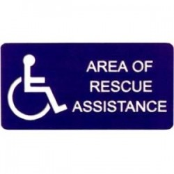 Alpha Communications - SI002 - Rescue Assitant Sign