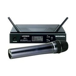 Bogen - UDMS800HH - Bogen UDMS800HH - UHF Wireless Handheld Microphone System - 470 MHz to 490 MHz System Frequency
