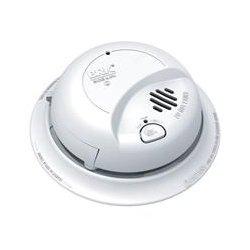 BRK Electronics - 9120B - BRK-First Alert 9120B Smoke Detector, Ionization Sensor, 120V AC, White, 9V Battery Backup