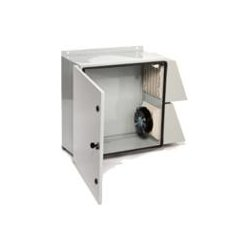 Mier Products - BW1248FC - Mier Products BW-124-8FC outdr encl24 x24 x8 w/115v