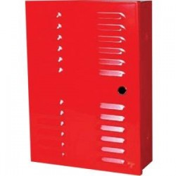Mier Products - BW100RNL - Mier Products BW100RNL instr box painted red w/o lock