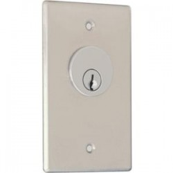 Camden Door Controls - CM-1200 - Key Switch S/ S Spst N/ O Mom