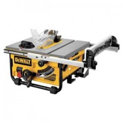 "Dewalt - DW745 - 10"" Compact Job Site Table Saw With Site-pro Mod"