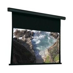 Draper - 101345Q - Draper Premier 101345Q Electric Projection Screen - 132 - 4:3 - Wall Mount, Ceiling Mount - 78 x 104 - HiDef Grey
