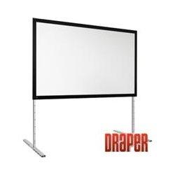 Draper - 385115 - Draper FocalPoint Manual Projection Screen - 165 - 16:9 - 81 x 144 - Rear Cineflex