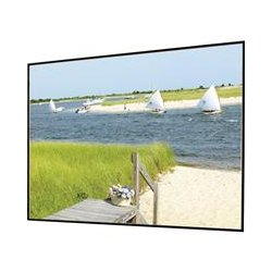 Draper - 252133SC - Draper Clarion Fixed Frame Projection Screen - 119 - 16:9 - Ceiling Mount, Wall Mount - 62 x 108 - ClearSound NanoPerf XT800V