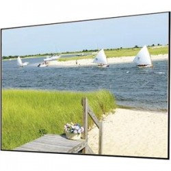 Draper - 252134 - Draper Clarion Fixed Frame Projection Screen - 119 - 16:9 - Wall Mount - 62 x 108 - Pearl White MH1500V