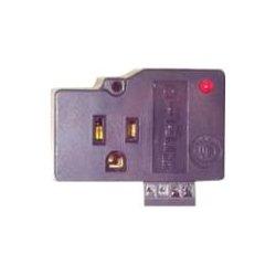Ditek - DTK-1F31X - DITEK DTK-1F31X 1-Outlet Surge Suppressor - 1 Receptacle(s) - 114 J - 120 V AC Input - 120 V AC Output - Telecommunication