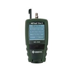 Greenlee / Textron - NC-500 - Greenlee Cable Analyzer - Coaxial, Twisted Pair