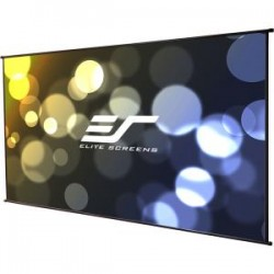 Elite Screens - DIYW116H - Elite Screens DIYW116H DIY Wall Portable Outdoor Do-It-Yourself Place Anywhere Projection Screen (116 16:9 Aspect Ratio) (MaxWhite) - 56.5 x 100.4 - MaxWhite