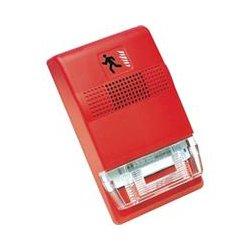 Edwards Signaling - EG1RHDVM - Fire Alarm, Genesis Series, Audible Warning, Steady Horn, 98dB, Wall Mount