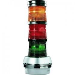 Edwards Signaling - 101XBRMR24D - Led Stklit Mod Stdy/ Flsh Red