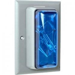 Edwards Signaling - 89STRBN5 - Edwards Signaling 89STRB-N5 strobe flush mount 120v blue