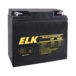 ELK Products - 12180 - ELK ELK-12180 General Purpose Battery - 18000 mAh - Proprietary Battery Size - Sealed Lead Acid (SLA) - 12 V DC