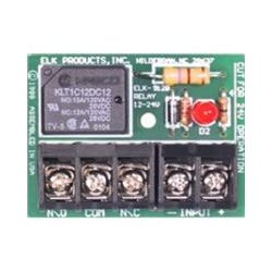 ELK Products - 912B - Elk 12/24v Relay Module W/ Big Terminals, Spdt
