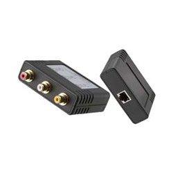 Gem Electronics - BLN-AV2R1B - Gem Electronics BLN-AV2R1B Video Console Extender - 1 Input Device - 1 Output Device - 2200 ft Range - 2 x Network (RJ-45) - Twisted Pair