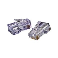 Gem Electronics - CAT5-EZP - Gem Electronics CAT5-EZP Network Connector - 50 Pack - 1 x RJ-45