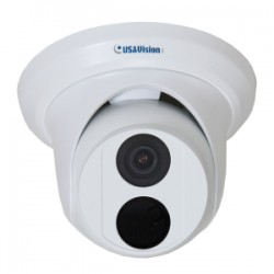 GeoVision - 160-ABD1300 - GeoVision UVS-ABD1300 1.3 Megapixel Network Camera - Monochrome, Color - 98.43 ft Night Vision - Motion JPEG, H.264 - 1280 x 960 - 2.80 mm - CMOS - Cable - Dome - Wall Mount
