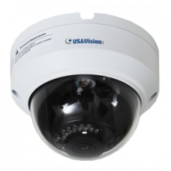 GeoVision - 160-ADR1300 - GeoVision UVS-ADR1300 1.3 Megapixel Network Camera - Monochrome, Color - 98.43 ft Night Vision - Motion JPEG, H.264 - 1280 x 960 - 2.80 mm - CMOS - Cable - Dome - Wall Mount