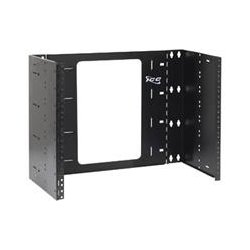 ICC - ICCMSABR68 - ICC EZ-Fold Mounting Bracket for Network Equipment - 30 lb Load Capacity - Steel - Black