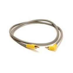On-Q / LeGrand - F2217 - ON-Q F2217 RCA TO RCA Patch Cable, 90 Degree