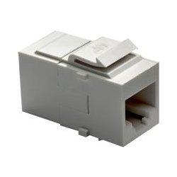 On-Q / LeGrand - WP3451-WH - ON-Q WP3451-WH Cat5e RJ45 coupler keystone jack style