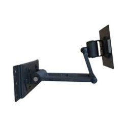 Tatung - TWM-DA1520 - Tatung TRIVIEW TWM-DA1520 Mounting Arm for Flat Panel Display - 15 to 20 Screen Support - 18 lb Load Capacity - Black