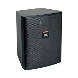JBL - CONTROL 25 AV BLACK - 5.25 2-way Monitor Spkr Blk Pr