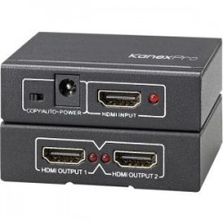 KanexPro - SP-HD1X24K - 4k Hdmi 2-port Splitter