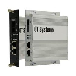 OT Systems - ET2111-A-SA - OT Systems Unmanaged Industrial 2-Port 10/100BASE-TX + 1-Port 100BASE-FX Ethernet Switch - 2 Layer Supported - Wall Mountable, Rack-mountable - Lifetime Limited Warranty