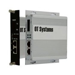 OT Systems - ET2111-B-SA - OT Systems Unmanaged Industrial 2-Port 10/100BASE-TX + 1-Port 100BASE-FX Ethernet Switch - 2 Layer Supported - Desktop, Wall Mountable - Lifetime Limited Warranty