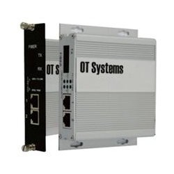 OT Systems - ET2111-G-SA - OT Systems Unmanaged Industrial 2-Port 10/100BASE-TX + 1-Port 100BASE-FX Ethernet Switch - 2 Layer Supported - Desktop, Wall Mountable - Lifetime Limited Warranty