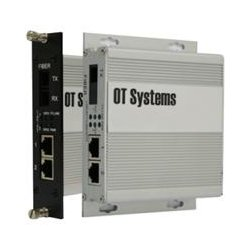 OT Systems - ET2111-D-SA - OT Systems Unmanaged Industrial 2-Port 10/100BASE-TX + 1-Port 100BASE-FX Ethernet Switch - 2 Layer Supported - Wall Mountable, Rack-mountable - Lifetime Limited Warranty