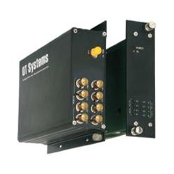 OT Systems - FT800-SSR SA - OT Systems FT800-SSRSA 10-bit Digital 8-ch Video - 1 Input Device - 8 Output Device - 131233.60 ft Range - 1 x ST Ports - Optical Fiber