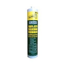 L.H. Dottie - RTV10 - L.H. Dottie RTV Silicone Sealant Cartridge PC 6200 - Silicone - Clear