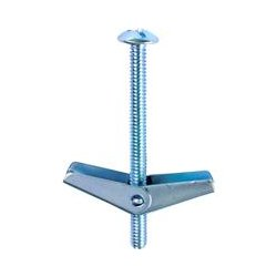 L.H. Dottie - TBC363 - L.H. Dottie TBC363 Bolt - Toggle Bolt - 3 - Mushroom - Slotted, Philips, Square - Steel - 50 / Pack