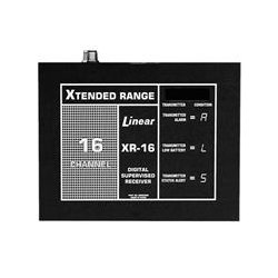 Linear - XR-16 - 12 to 15VDC 16-Channel Access Control Receiver; Includes SO-239 Antenna Connector