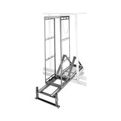 Middle Atlantic Products - AXSX10 - Middle Atlantic Products Rack Frame - 19 10U Wide - Black - 650 lb x Maximum Weight Capacity